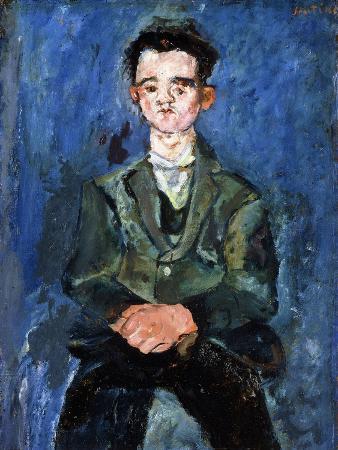 Portrait of a Boy in Blue, 1928