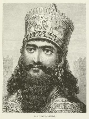 King Nebuchadnezzar Giclee Print at AllPosters.com