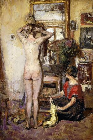 Nude in an Interior; Nu Dans Un Interieur, 1923