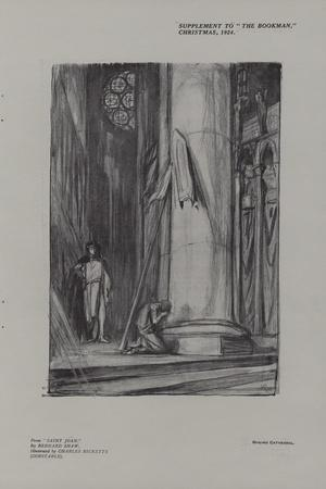 Scene in Rheims Cathedral from Saint Joan