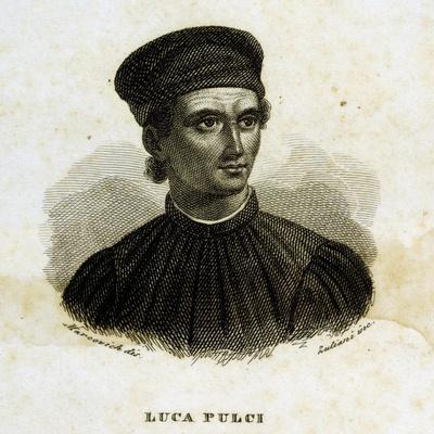Portrait of Luca Pulci