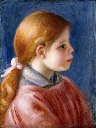 Head of a Young Girl, 1888