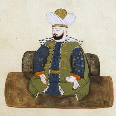 Portrait of Murad I
