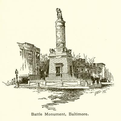 Battle Monument, Baltimore