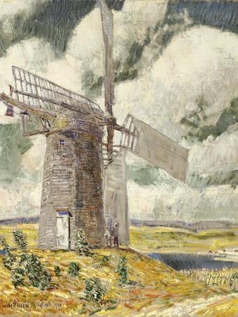 Bending Sail on the Old Mill, 1920