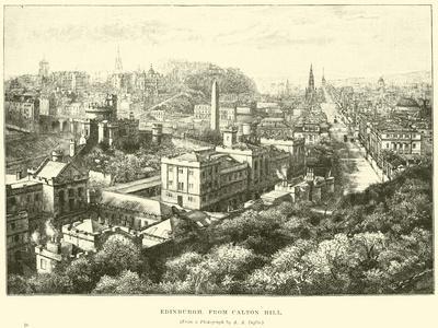 Edinburgh, from Calton Hill