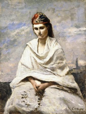 A Young Greek with a White Shawl, C.1868-70