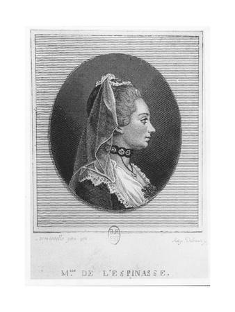 Madame De L'Espinasse, 1750