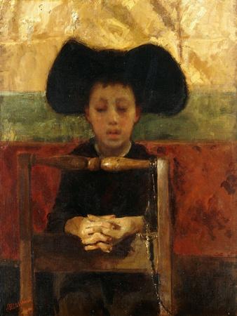 Altar Boy Praying, C.1865-1875