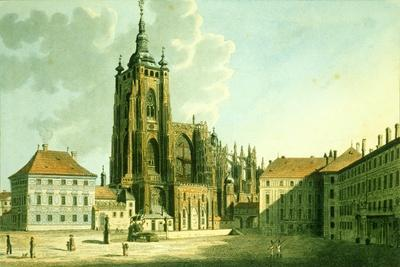 St. Vitus Cathedral from the East, 1825
