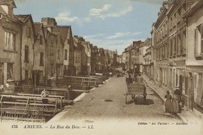 Postcard Depicting the Rue Du Don