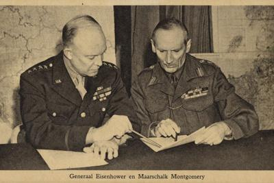 General Eisenhower and Field Marshal Montgomery