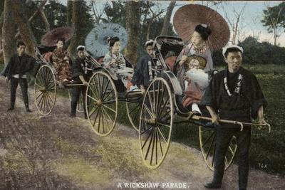 A Rickshaw Parade