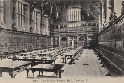 The Middle Temple Hall, Looking East