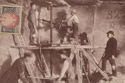Miners at Work, Wieliczka Salt Mines, Poland