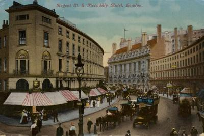 Regent St. and Piccadilly Hotel, London