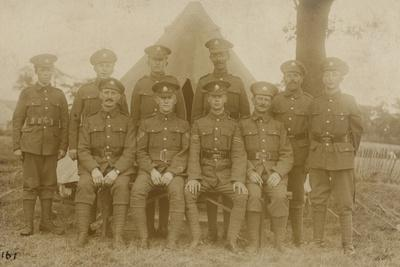 Group of British Soldiers, World War I
