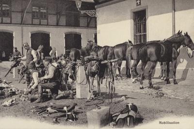 Mobilisation, World War I