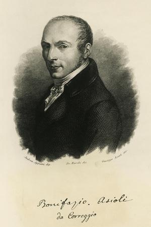 Portrait of Bonifazio Asioli