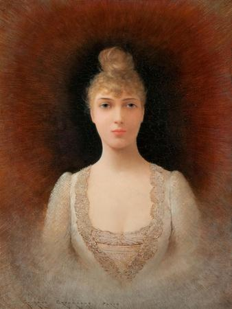 Portrait of a Flaxen-Haired Woman