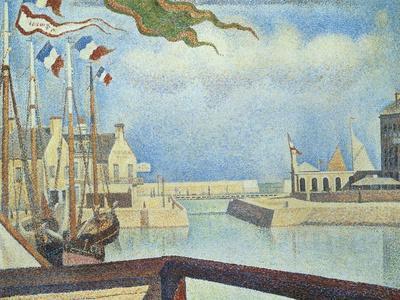 Sunday, Port-En-Bessin, 1888