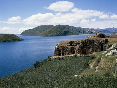Bolivia, Lake Titicaca, Sun Island