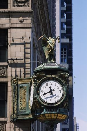 Father Time Clock, Jewelers Building