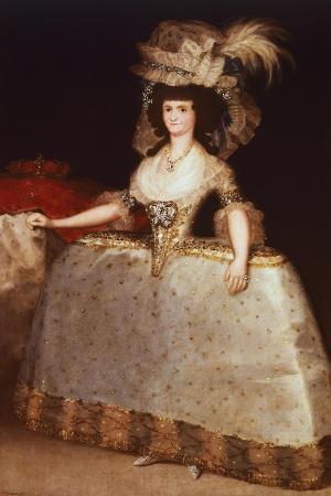 Queen Maria Luisa, 1789
