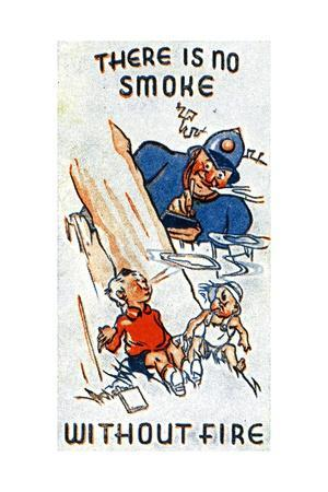 There Is No Smoke Without Fire, 1938