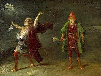 Scene from King Lear