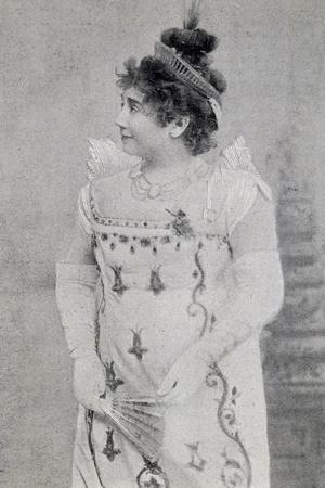 Actress Marie-Therese Kolb