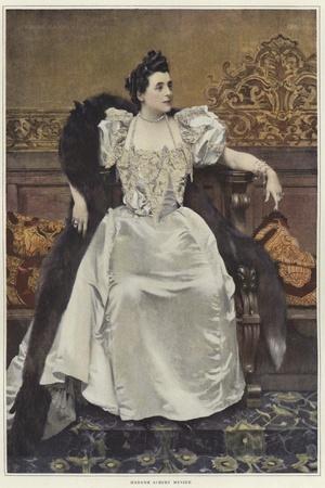 Portrait of Madame Mathilde Madeleine Menier