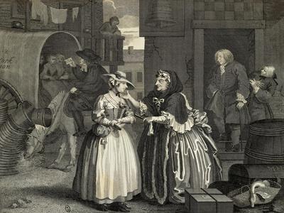 The Harlot's Progress by William Hogarth