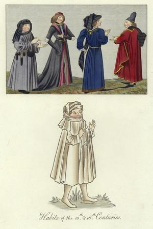 Habits of the 15th and 16th Centuries