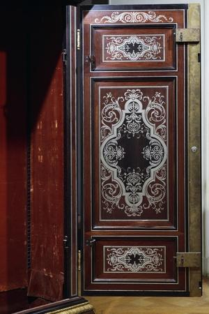 Ebony Cabinet Attributed to Andre-Charles Boulle