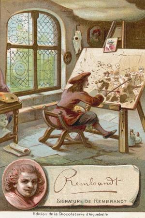 Rembrandt Van Rijn, Dutch Artist