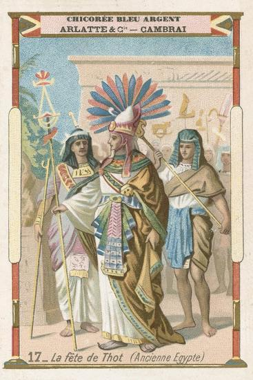 File Thoth Tarot Cards Box Jpg: Festival Of Thoth, Ancient Egypt Giclee Print At