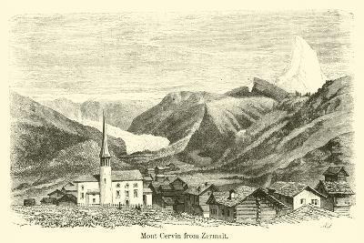 Mont Cervin from Zermalt