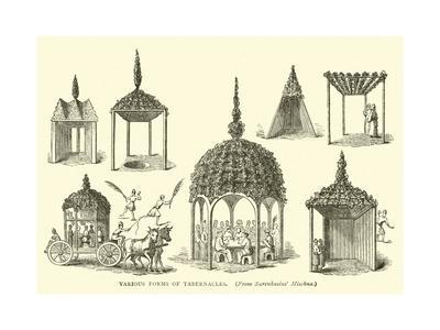 Various Forms of Tabernacles