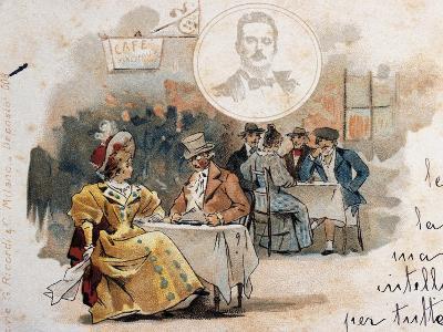 Postcard by Adolfo Hohenstein