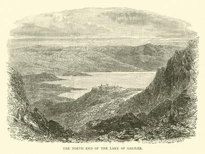 The North End of the Lake of Galilee