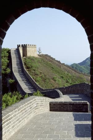 Segment of Great Wall, 1505, in Badaling