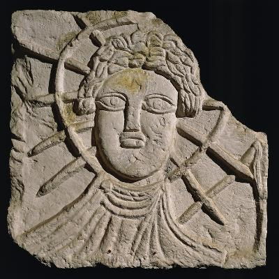 Radiate Head of Sun-God Sol, Relief from Coria