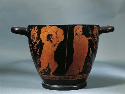 Red Figure Wine-Cup