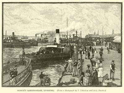 George's Landing-Stage, Liverpool