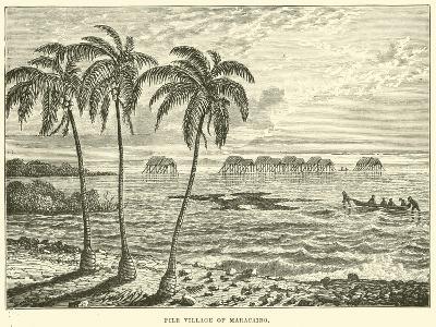 Pile Village of Maracaibo