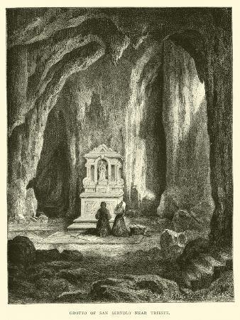 Grotto of San Servolo Near Trieste