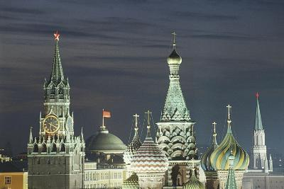 Russia, Moscow, Red Square, Saviour's