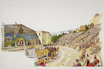 Ancient Athens - Reconstruction of a Theatre