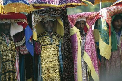 People Celebrating Timkat